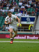England hooker Luke Cowan-Dickie (Exeter Chiefs) during the International Rugby Union match England XV -V- Barbarians at Twickenham Stadium, London, Greater London, England on May  31  2015. (Steve Flynn/Image of Sport)