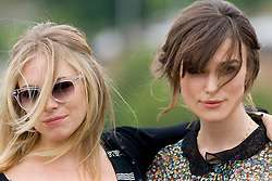 Sienna Miller and Keira Knightley..The Edge of Love photocall at Edinburg Castle..©2007 Michael Schofield. All Rights Reserved.