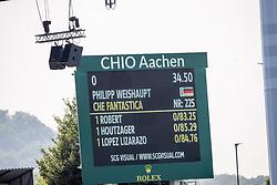WEISHAUPT Philipp (GER), Che Fantastica<br /> Aachen - CHIO 2019<br /> Turkish Airlines-Preis von Europa<br /> Springprüfung mit Stechen <br /> 17. Juli 2019<br /> © www.sportfotos-lafrentz.de/Stefan Lafrentz