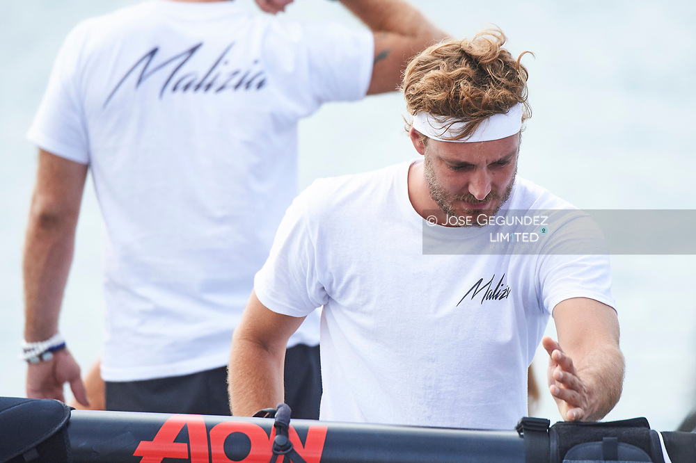 Pierre Casiraghi during the 36th Copa del Rey Mapfre Sailing Cup, day 3 on August 2, 2017 in Palma de Mallorca, Spain.