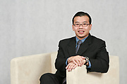 Danny Quah, Head of Consumer Banking for North China, poses for a photograph in Standard Chartered Bank headquarters in Shanghai, China, on December 11, 2007. Photo by Lucas Schifres/Pictobank