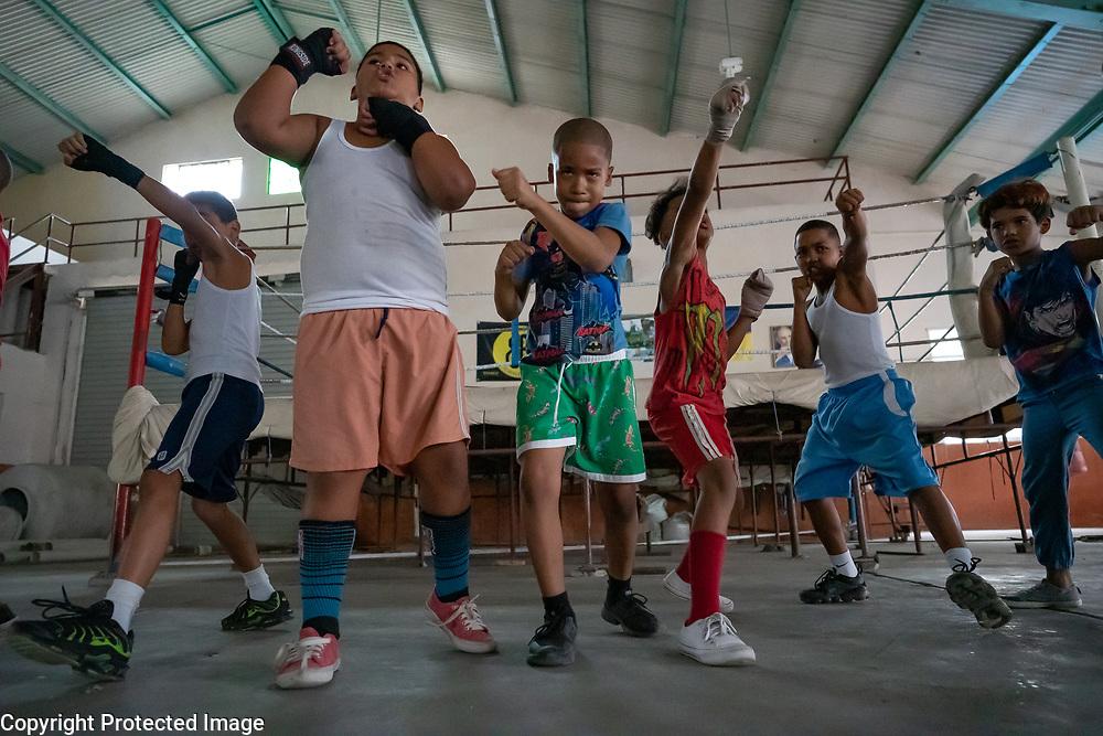 Youth Boxing Class, Old Havana, Cuba 2020 from Santiago to Havana, and in between.  Santiago, Baracoa, Guantanamo, Holguin, Las Tunas, Camaguey, Santi Spiritus, Trinidad, Santa Clara, Cienfuegos, Matanzas, Havana
