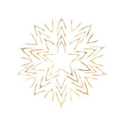 Lucky Star 5: a star made of wishbones