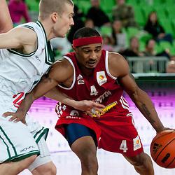 20111011: SLO, Basketball - ABA League, KK Union Olimpija vs Cedevita Zagreb