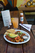 "The vegan dish, ""How Latin,"" at the Tin Shed, a restaurant in Portland, Oregon"