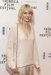 April 28, 2017 - New York, New York, United States - Naomi Watts attends premiere of Chuck during 2017 Tribeca Film festival at BMCC  (Credit Image: © Lev Radin/Pacific Press via ZUMA Wire)