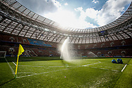 General view during the Saudi Arabia training session on June 13, 2018 the day before the opening match of the 2018 FIFA World Cup Russia, Group A football match between Russia and Saudi Arabia at Luzhniki Stadium in Moscow, Russia - Photo Thiago Bernardes / FramePhoto / ProSportsImages / DPPI