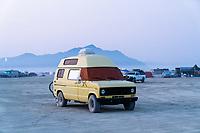 Yellow Van and Razorback - https://Duncan.co/Burning-Man-2021