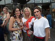 VICTORIA BECKHAM, Alex Shulman goodbye party. Dock Kitchen, Ladbroke Grove. London. 22 June 2017