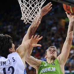 20140902: ESP, Basketball - 2014 FIBA World Championship, Slovenia vs Korea