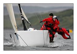 The Brewin Dolphin Scottish Series, Tarbert Loch Fyne...GBR138 Red Tarbert Loch Fyne YC Melges 20 Ruairidh Scott.
