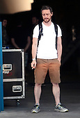 James McAvoy break in Madrid