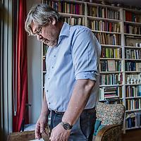 Nederland, Voorburg, 13 mei 2016.<br /> Jan Gielkens heeft de Filter Vertaalprijs gewonnen voor zijn overzetting van Grimms Wörter vanuit het Duits naar het Nederlands.<br /> <br /> <br /> <br /> Foto: Jean-Pierre Jans