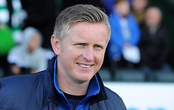 Yeovil Town's Acting Manager Terry Skiverton  - Photo mandatory by-line: Harry Trump/JMP - Mobile: 07966 386802 - 21/02/15 - SPORT - Football - Sky Bet League One - Yeovil Town v Gillingham - Huish Park, Yeovil, England.