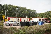 Nederland, Nijmegen, 15-10-2020  Teststraat van de GGD . De GGD test op afspraak . Foto: Flip Franssen