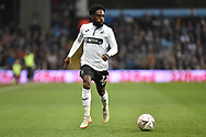 Swansea City midfielder Nathan Dyer (12) looks to cross during the The FA Cup 3rd round match between Aston Villa and Swansea City at Villa Park, Birmingham, England on 5 January 2019.