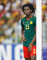 Photo: Steve Bond/Richard Lane Photography.<br />Ghana v Cameroon. Africa Cup of Nations. 07/02/2008. Alexandre Song awaits a corner