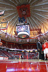 29 January 2017: Redbird Arena during an College Missouri Valley Conference Women's Basketball game between Illinois State University Redbirds the Salukis of Southern Illinois at Redbird Arena in Normal Illinois.