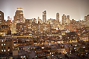 "View over New York, uptown near Central Park...A 4-weeks road trip across the USA, from New York to San Francisco, on the steps of Jack Kerouac's famous book ""On the Road"".  Focusing on nomadic America: people that live on the move across the US, out of ideology or for work reasons."