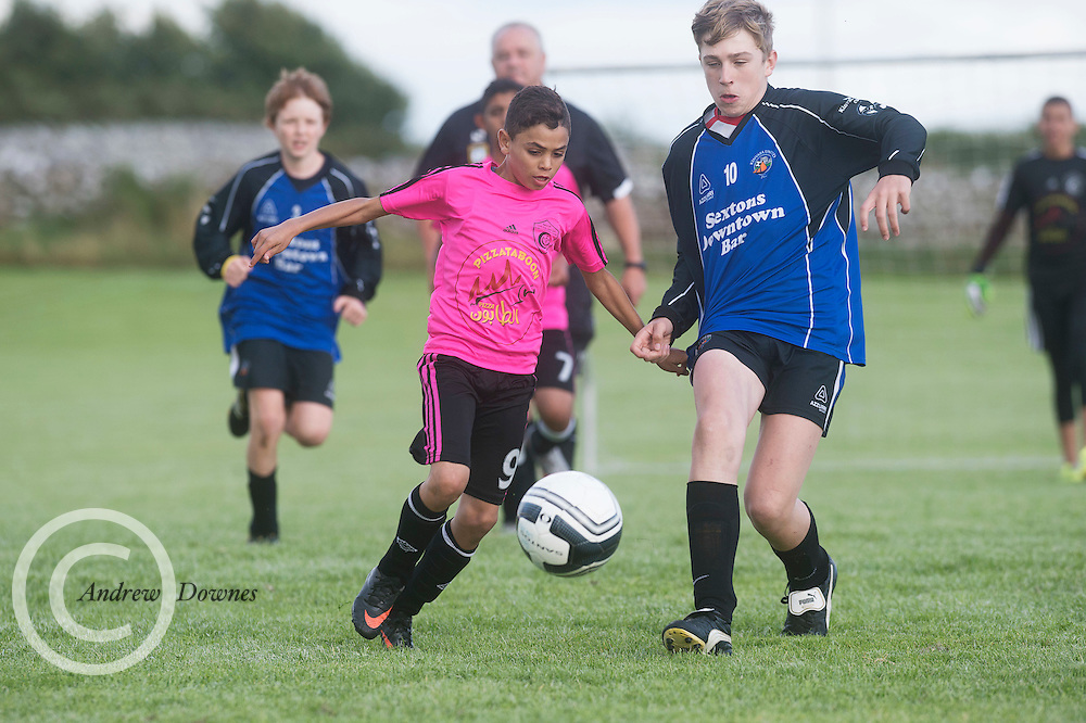 4/08/2016 Gaza Children playing Kinvara United in a Friendly in Co. Galway Ireland.<br />  Photo:Andrew Downes, xposure