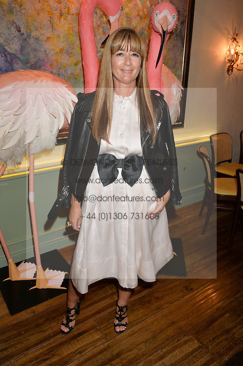 DEBORAH LLOYD at a dinner hosted by Kate Spade NY to celebrate Chelsea in Bloom held at Daphne's, 112 Draycott Avenue, London on 20th May 2015.
