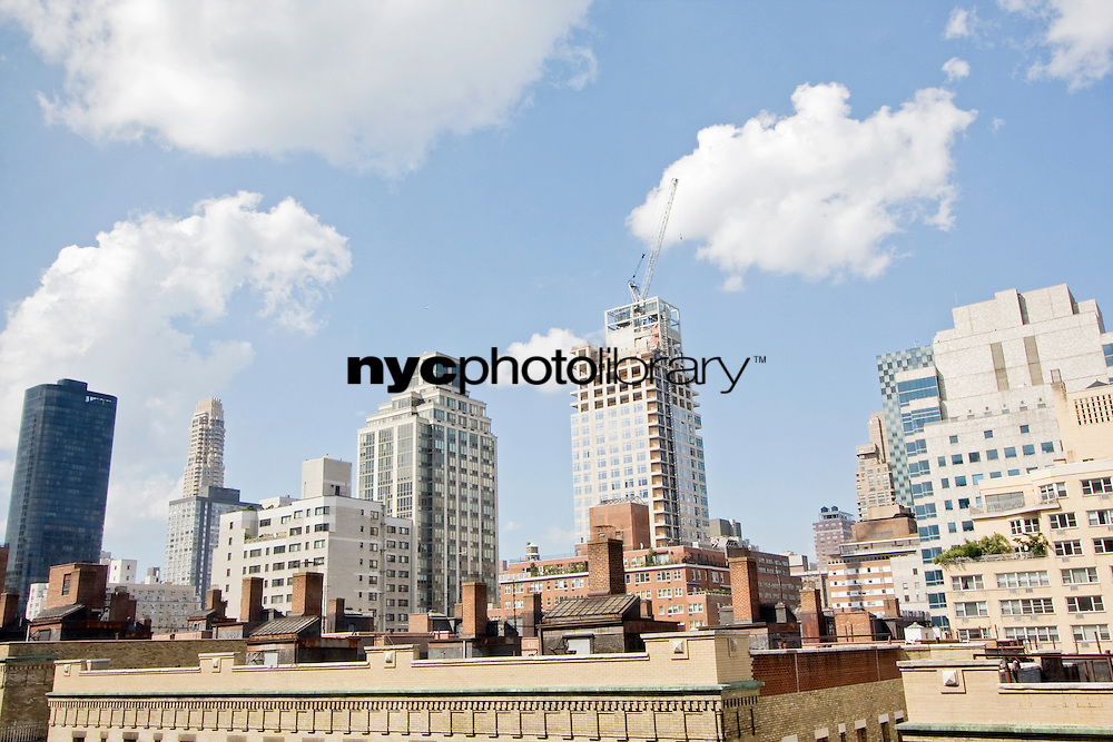 Roof View at 420 East 64th Street