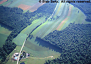 PA Landscapes, Farm and Forest, Aerial, Jefferson Co., NC PA Aerial Photograph Pennsylvania