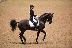 Telde Mina (SWE) - Santana<br /> Grand Prix - Reem Acra FEI World Cup Dressage Qualifier - The London International Horse Show Olympia - London 2012<br /> © Hippo Foto - Jon Stroud