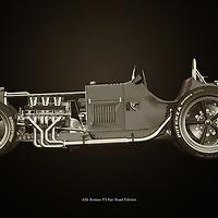 Classic cars in B&W