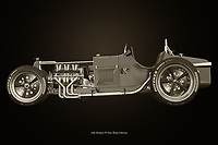 Alfa Romeo P3 Rat-Road Edition<br /> The Alfa Romeo P3 is a racing car from the 1930s with which Alfa Romeo won numerous victories. So it is fun to use this Alfa Romeo as a base to make a rat road of it. <br /> <br /> Here a black and white version of the Alfa Romeo P3 Rat-Road Edition. –<br /> <br /> BUY THIS PRINT AT<br /> <br /> FINE ART AMERICA<br /> ENGLISH<br /> https://janke.pixels.com/featured/alfa-romeo-p3-rat-road-edition-black-and-white-jan-keteleer.html<br /> <br /> WADM / OH MY PRINTS<br /> DUTCH / FRENCH / GERMAN<br /> https://www.werkaandemuur.nl/nl/shopwerk/Alfa-Romeo-P3-Rat-Road-Editie/742709/132?mediumId=11&size=75x50<br /> <br /> -