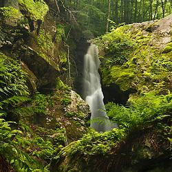 Royalston Falls in Royalston, Massachusetts. Falls Brook.