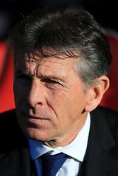 6th January 2018 - FA Cup - 3rd Round - Fleetwood Town v Leicester City - Leicester manager Claude Puel - Photo: Simon Stacpoole / Offside.