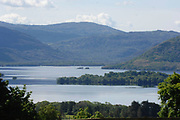 Heavens Reflex... Tourists take in the magnificient view at Aghadoe Killarney in glorious May sunshine. The scene is one of the most photographed views in Ireland and the setting for many films.<br /> Picture by Don MacMonagle