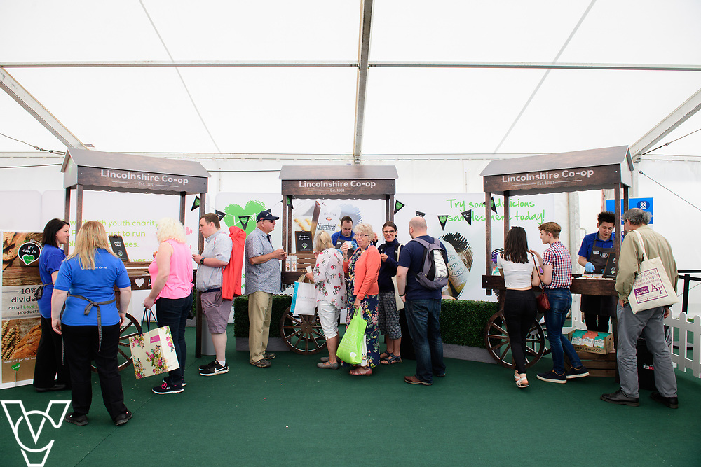 Lincolnshire Co-op at the 2018 Lincolnshire Show, held at the Lincolnshire Showground.<br /> <br /> Picture: Chris Vaughan Photography for Lincolnshire Co-op<br /> Date: June 20, 2018