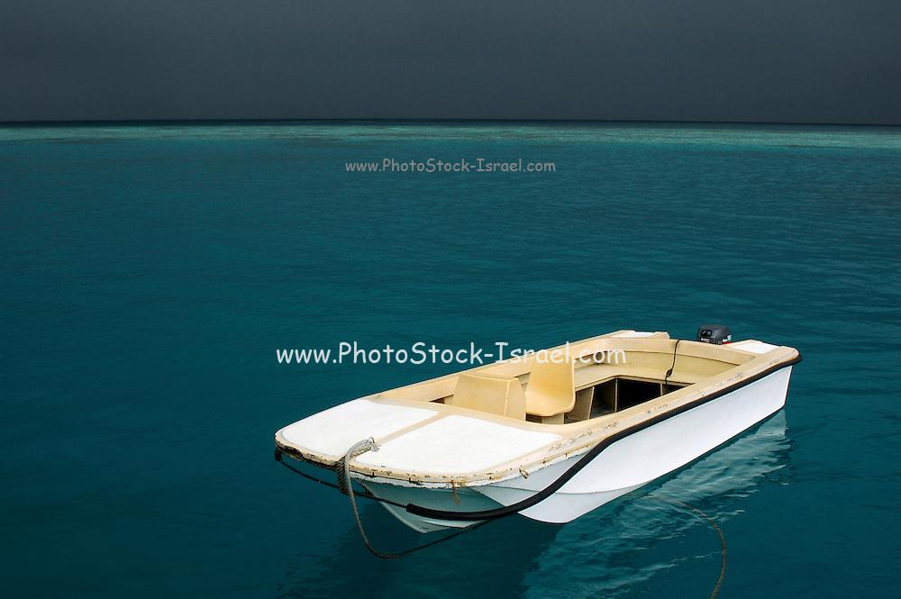 The Maldives Approaching Monsoon storm