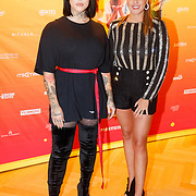NLD/Amsterdam/20181122 - Premiere First Kiss, Jessie Maya en Monique Smit