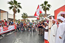 March 1, 2019 - Dubai, Emirati Arabi Uniti - Foto LaPresse - Massimo Paolone.1 Marzo 2019 Emirati Arabi Uniti.Sport Ciclismo.UAE Tour 2019 - Tappa 6 - da Ajman a Jebel Jais -.180 km..Photo LaPresse - Massimo Paolone.March 1, 2019 United Arab Emirates.Sport Cycling.UAE Tour 2019 - Stage 6 - Ajman to Jebel Jais - 111,8.miles (Credit Image: © Massimo Paolone/Lapresse via ZUMA Press)