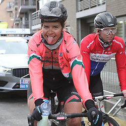 29-02-2020: Wielrennen: Omloop Nieuwsblad: Ninove: Romy Kasper: Lorena Wiebes