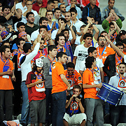 Istanbul BBSpor's supporters during their Turkish soccer superleague match Istanbul BBSpor between Galatasaray at the Ataturk Olympic stadium in Istanbul Turkey on Sunday 11 September 2011. Photo by TURKPIX
