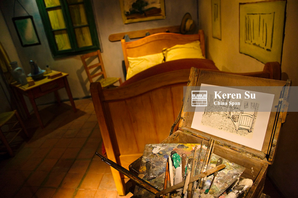 Van Gogh's studio at Van Gogh museum, Arles, France