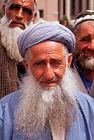 """A muslim man in Dushanbe the capital of Tadjikistan, 1992<br /> Available as Fine Art Print in the following sizes:<br /> 08""""x12""""US$   100.00<br /> 10""""x15""""US$ 150.00<br /> 12""""x18""""US$ 200.00<br /> 16""""x24""""US$ 300.00<br /> 20""""x30""""US$ 500.00"""