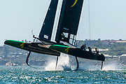 The SailGP is 'sailing redefined'. Competing in state of the art foiling F50 catamarans, the first event is held on Sydney Harbour on February 15 and 16, 2019.<br /> <br /> ©DREW MALCOLM. 7th February 2019.