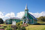 Ke Ola Mau Loau Church, 1931, Waimea, Kamuela, Island of Hawaii