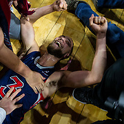 Mar 12 2019  Las Vegas, NV, U.S.A. St. Mary's guard Jordan Ford (3) celebrate a win over Gonzaga after the NCAA  West Coast Conference Men's Basketball Tournament championship between the Gonzaga Bulldogs and the Saint Mary's Gaels 60-47 win at Orleans Arena Las Vegas, NV.  Thurman James / CSM