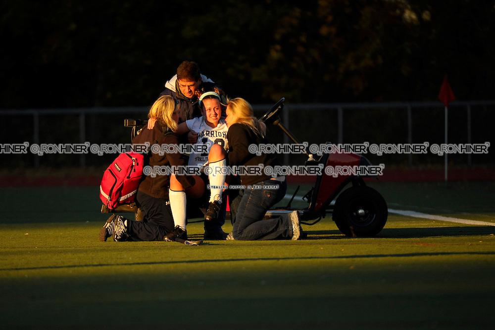 Staples High School Field Hockey.Staples defeats Wilton 2-1 in FCIAC finals..