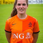 NLD/Velsen/20130701 - Selectie Nederlands Dames voetbal Elftal, Siri Worm