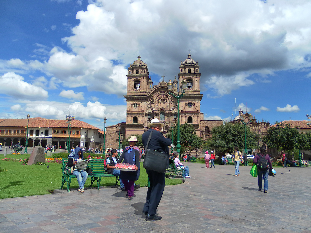 The Cathedral Basilica of the Assumption of the Virgin, also known as Cusco Cathedral, is the mother church of the Roman Catholic Archdiocese of Cusco. The cathedral is located on the Plaza de Armas.