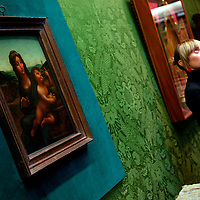 17-12-09 Stolen Da Vinci on display