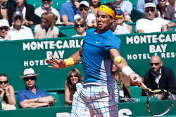 14.04.2010, Country Club, Monte Carlo, MCO, ATP, Monte Carlo Masters, im Bild Rafael Nadal (ESP) in action during the second round. EXPA Pictures © 2010, PhotoCredit: EXPA/ M. Gunn / SPORTIDA PHOTO AGENCY
