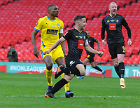 Football - 2019 / 2020 Buildbase FA Trophy - Final - Concord Rangers vs Harrogate Town - Wembley Stadium<br /> <br /> Josh Falkingham of Harrogate scores the only goal of the match<br /> <br /> Credit : COLORSPORT/ANDREW COWIE